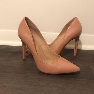 Lola Shoetique Patent Blush Sexy Heel Pumps